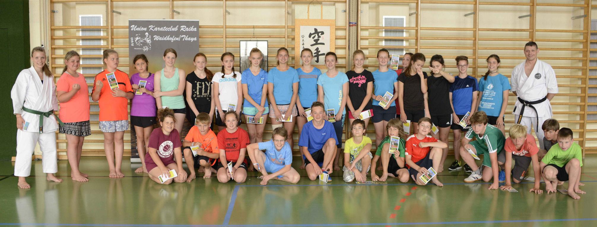 Workshop im Gymnasium