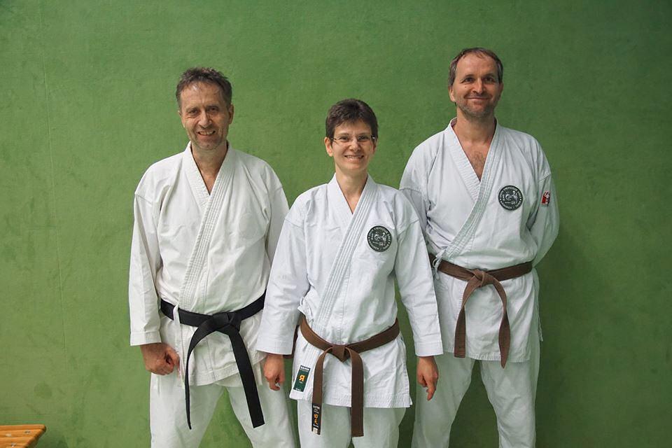 Übungleiterprüfung, Gerhard Weiss, Birgitt Weiss und Wolfgang Österreicher